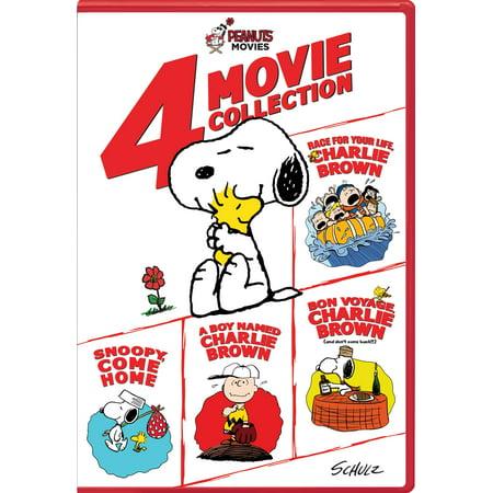 Peanuts: 4-Movie Collection (DVD) - Peanuts Christmas Movie