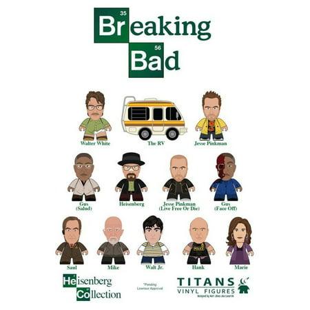 Breaking Bad Titans  The Heisenberg Collection Blind Box Vinyl Figure