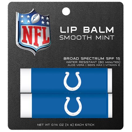 Indianapolis Colts Lip Balm 2pk (Indianapolis Weather)