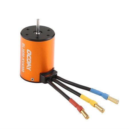 OCDAY BL3650 4300KV Waterproof Brushless Motor for 1/10 RC Car HSP 94123 HuanQi 727 FS Racing Motor RC Toys Accessories - image 3 of 4