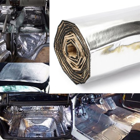 43sqft Car Sound Noise Deadener Insulation Mat Heat Proof Deadening (Best Sound Deadening Material)