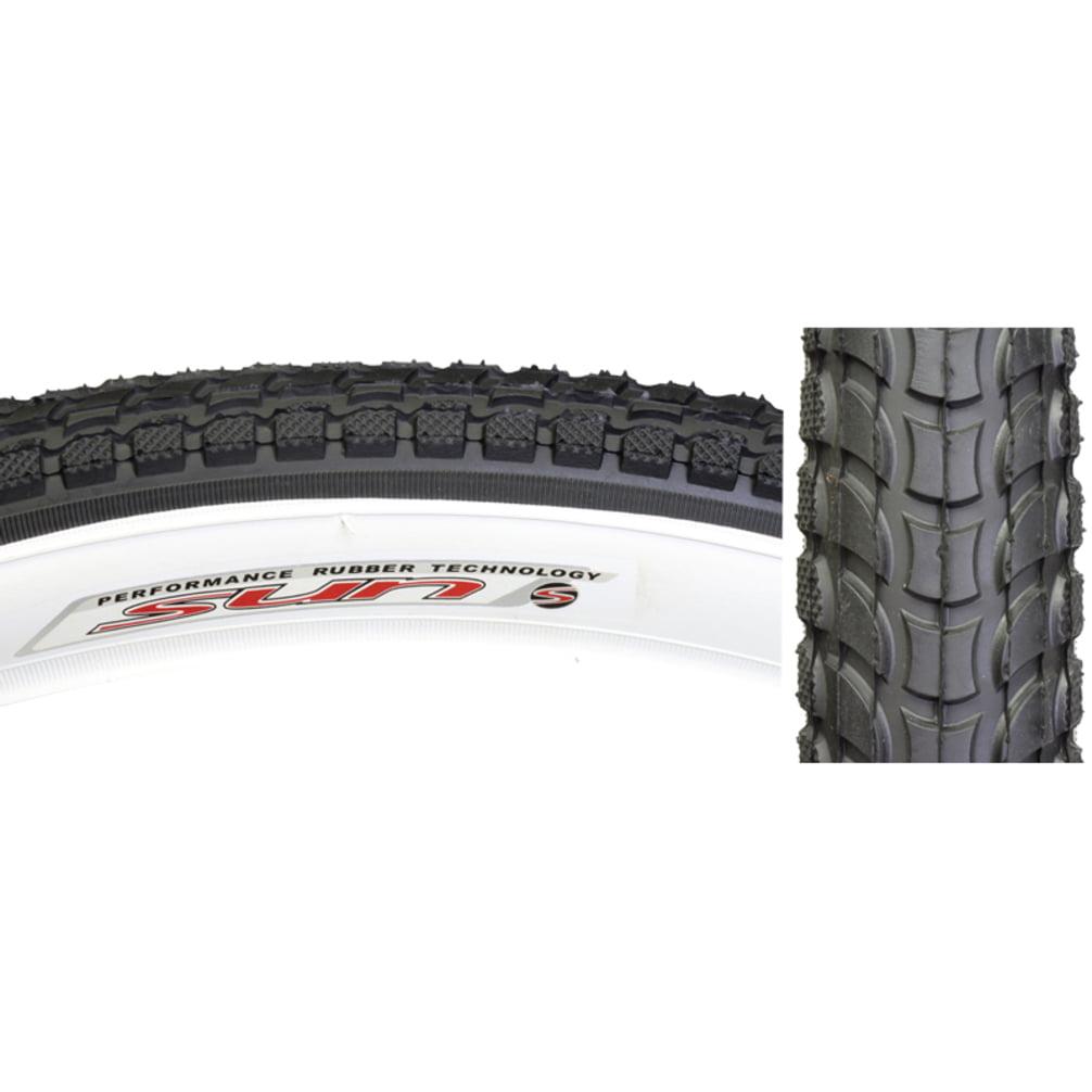 Sunlite Tire 26X2.125 Black/White Cruiser K927