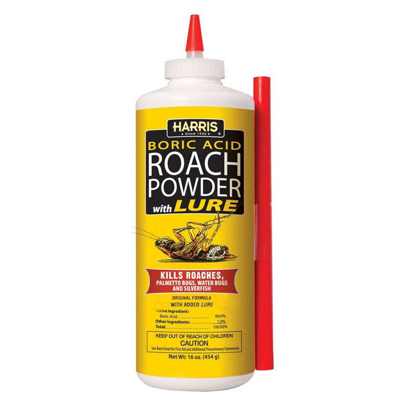Harris Boric Acid With Lure Roach Killer