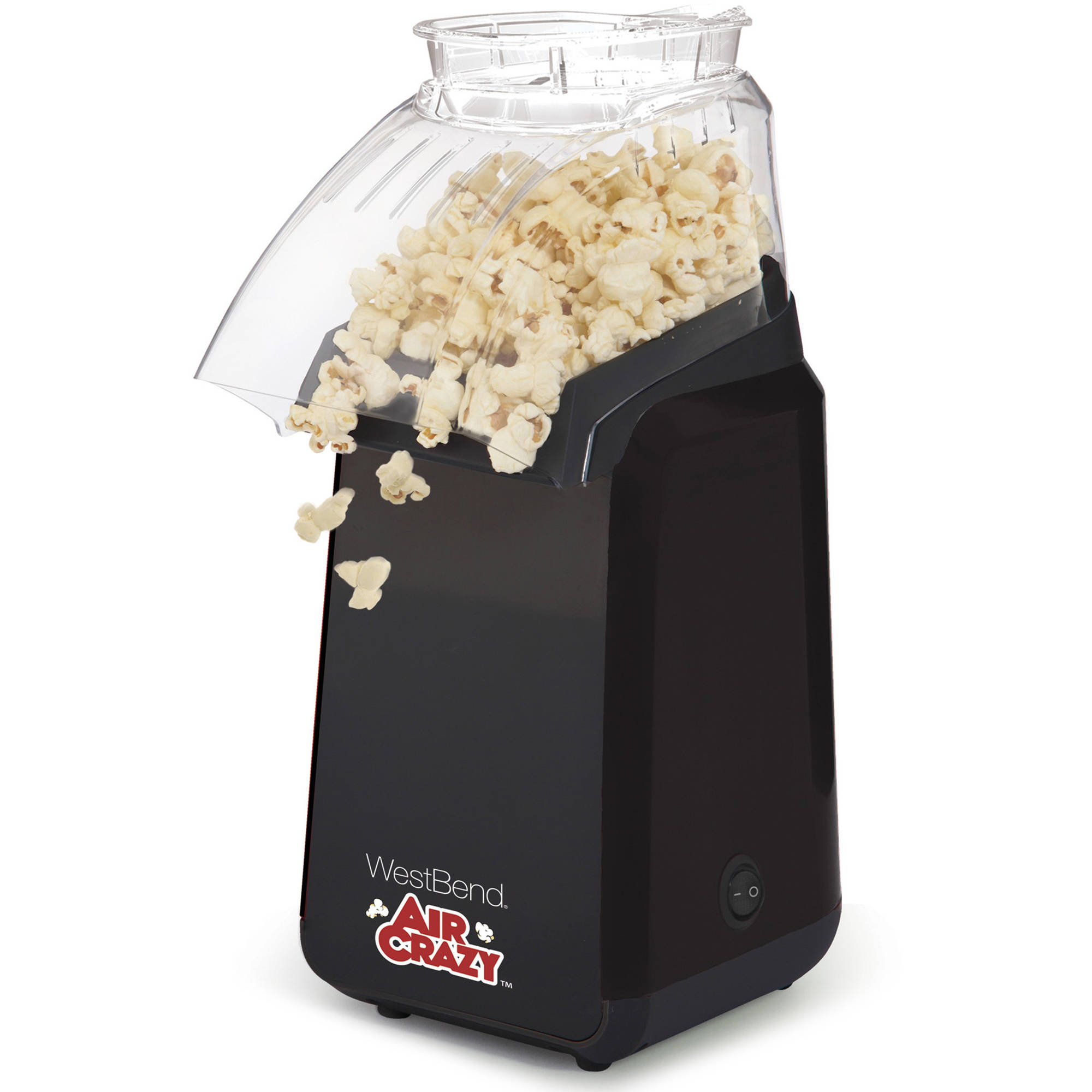 WestBend Air Crazy Popcorn Machine, Black