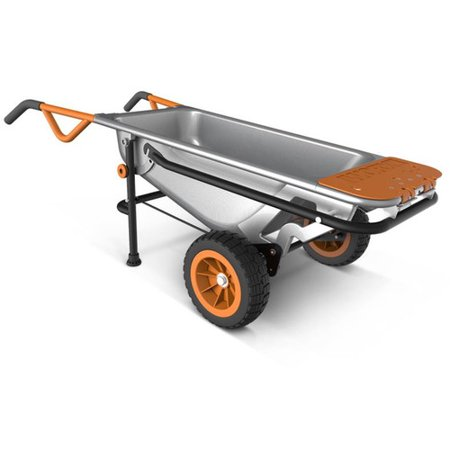 Yard Care - WORX WG050 Aerocart 8-in-1 Wheelbarrow / Yard Cart / Dolly