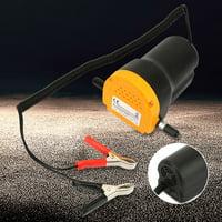 Anauto Oil Transfer Pump, Car Oil Pump,Mini Car Oil Diesel Suction Extractor Transfer Pump 12V 60W