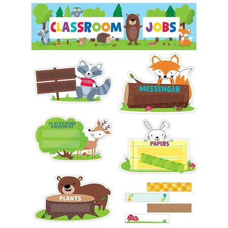 Creative Teaching Press CTP1759 Classroom Jobs Mini Bulletin Board Set Woodland](Classroom Halloween Bulletin Board Ideas)