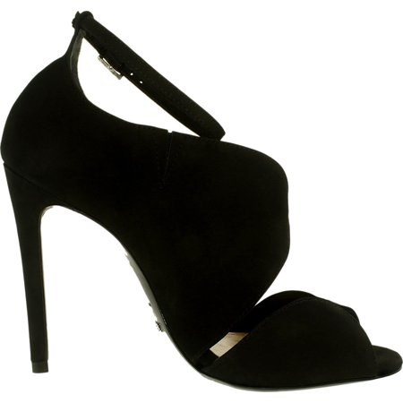 Schutz Women's Moon Suede Black Ankle-High Pump - 8.5M - image 2 of 3