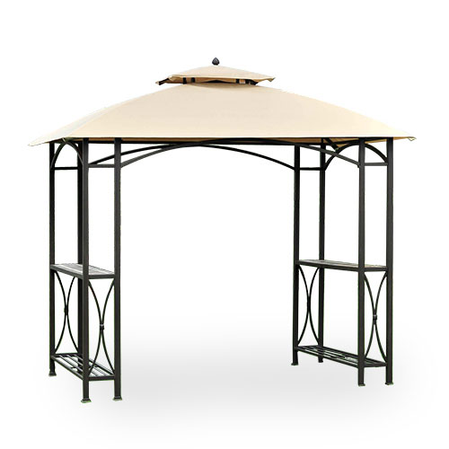 Garden Winds Sheridan Grill Gazebo Replacement Canopy Top RipLock 350 by