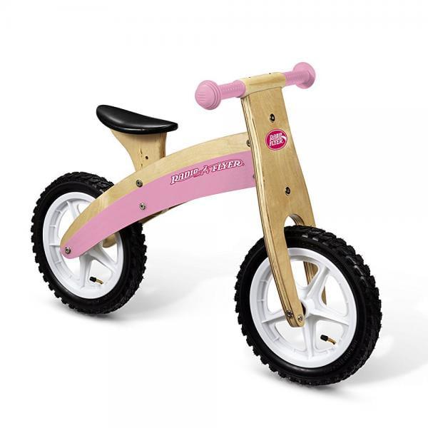 Radio Flyer Classic Pink Glide & Go Balance Bike