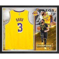 Anthony Davis Los Angeles Lakers Framed Autographed Gold Authentic 2020 NBA Finals Champions Jersey Collage - Fanatics Authentic Certified