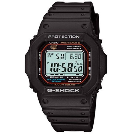 Casio Men's G-Shock Multi-Band Solar Atomic Watch GWM5610-1 Multi Band Atomic Solar Watch