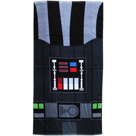 Star Wars Cotton Black Darth Vader Officially Licensed Novelty Bath Beach Towel