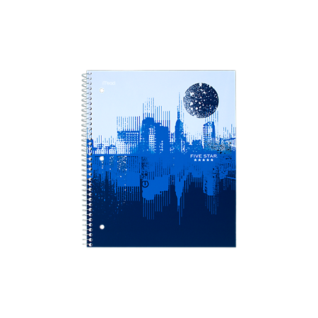 Five StarGraphics Notebook, CollegeRule, Navy