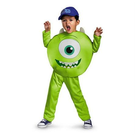 Monsters University Toddler & Boys Green Mike Costume Monster Inc