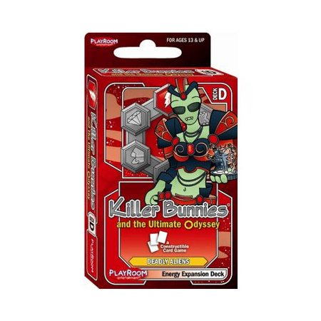 Killer Bunnies Odyssey Energy Booster D Multi-Colored
