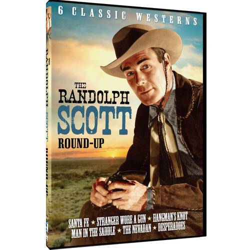 The Randolph Scott Round-Up - 6 Classic Westerns