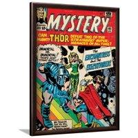 Marvel Comics Retro Style Guide: Thor Framed Poster Wall Art