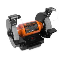 WEN 4.8-Amp 8-Inch Bench Grinder With Led Work Lights And Quenching Tray, 4282