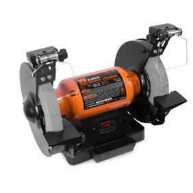 Astonishing Central Machinery 8 In Bench Grinder 3 4 Hp Motor Adjustable Tool 120V 39798 Unemploymentrelief Wooden Chair Designs For Living Room Unemploymentrelieforg