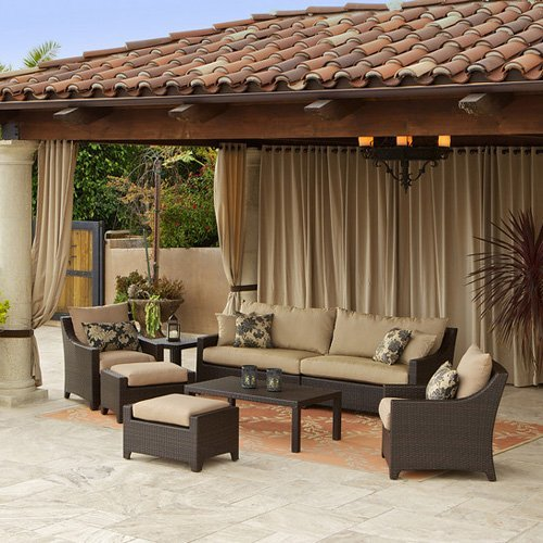RST Outdoor Delano 7 Piece Sofa Seating Set