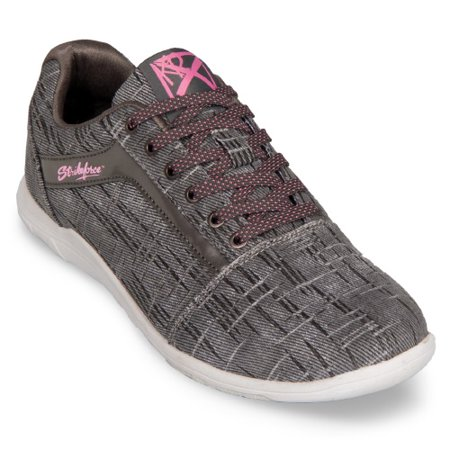 (KR Strikeforce Nova Lite Ash/Hot Pink Women's Bowling Shoes, Size 7)