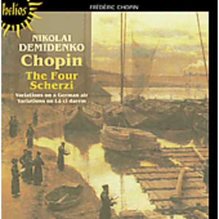 CHOPIN: THE FOUR SCHERZI; VARIATIONS - Scherzi Per Halloween Dolcetto O Scherzetto