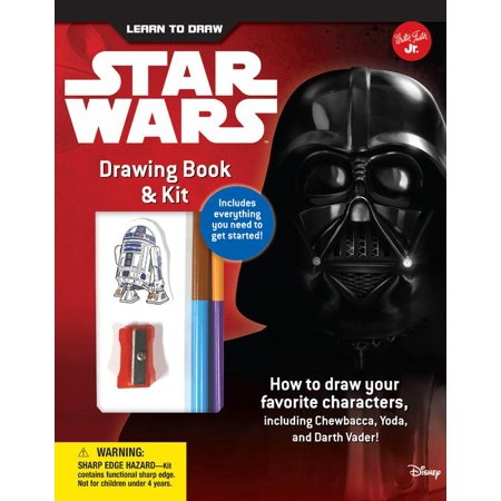 Licensed Learn to Draw: Learn to Draw Star Wars Drawing Book & Kit: Includes Everything You Need to Get Started! How to Draw Your Favorite Characters, Including Chewbacca, Yoda, and Darth Vader! (Othe