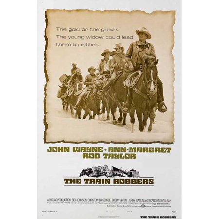 The Train Robbers Poster Movie B  27X40