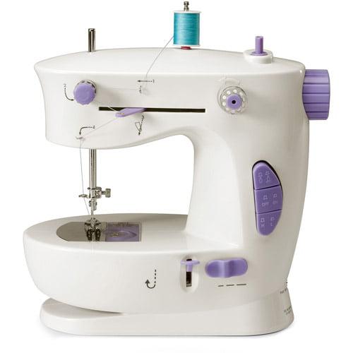 Michley Lil' Sew & Sew 2-Stitch Portable Sewing Machine