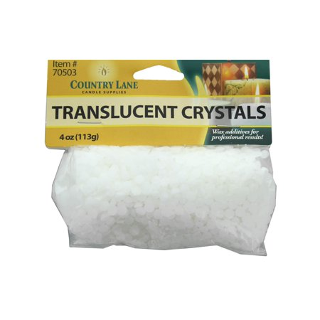 Majestic Crystal Candle - CLN70503 COUNTRY LANE TRANSLUCENT CRYSTALS BAG 4OZ