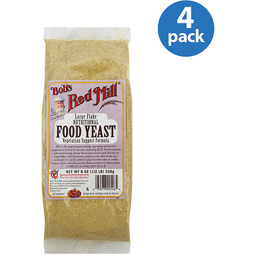 Bob's Red Mill Food Yeast, 8 oz (Pack of 4) by Generic