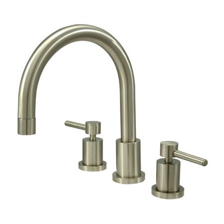 - Kingston Brass Concord Two Handle Roman Tub Faucet