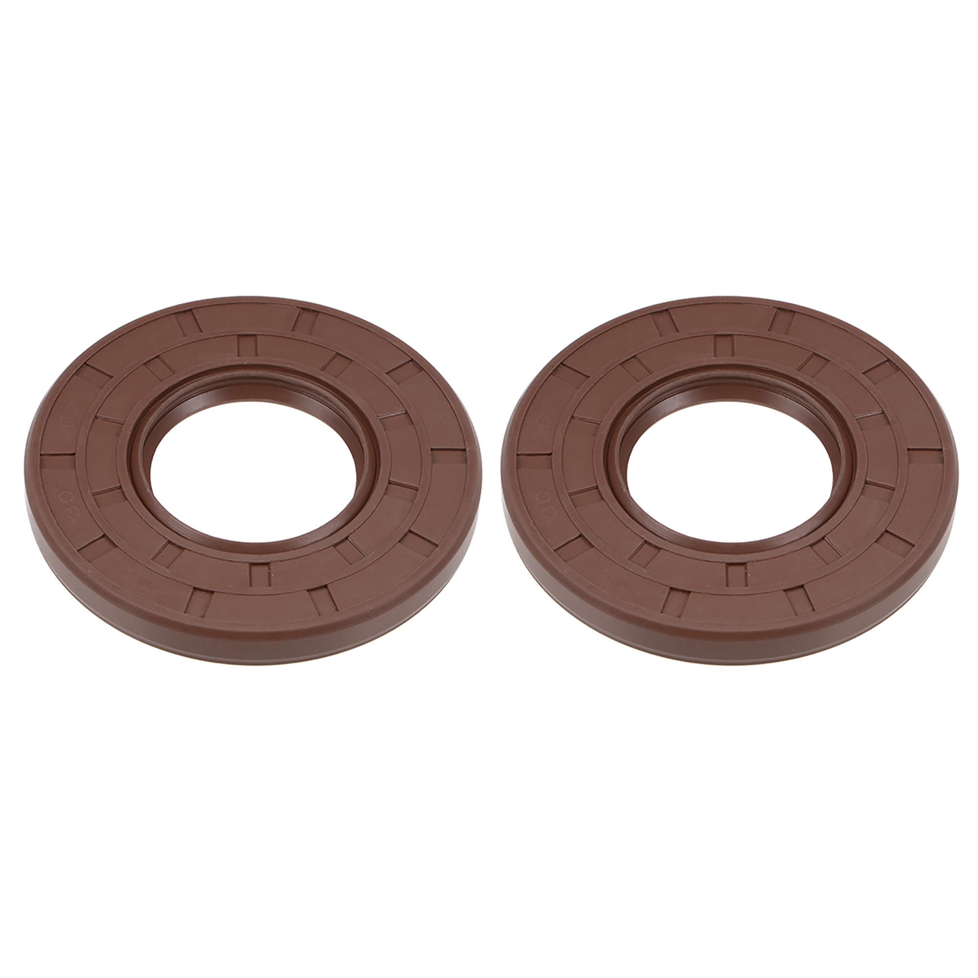 Oil Seal 30mm Inner Dia 62mm OD 7mm Thick Fluorine Rubber Double Lip Seals