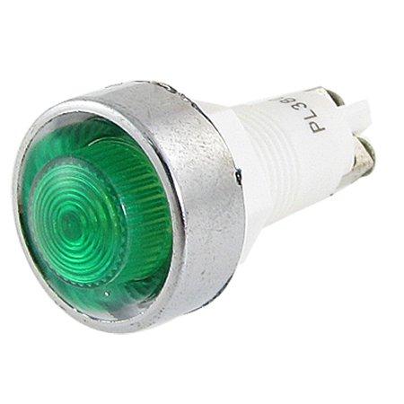 Unique Bargains Electronic 2 Terminals Green Signal Indicator Light Lamp  380V