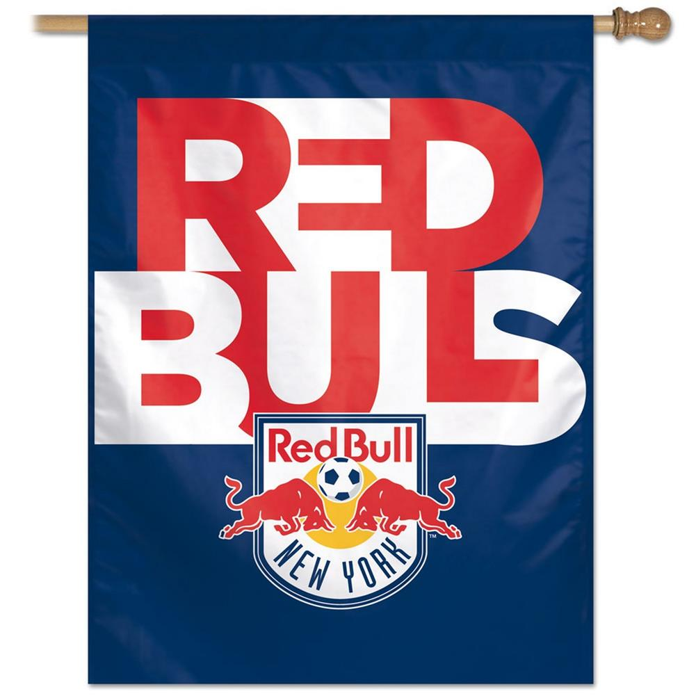 New York Red Bulls NY Vertical Outdoor House Flag