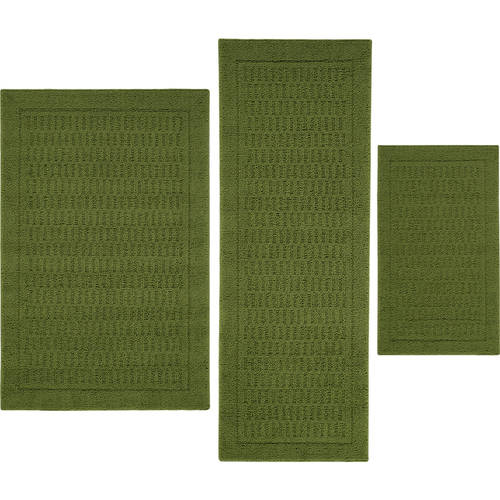 Perfect Mainstays Dylan Nylon 3 Piece Accent Rug Set
