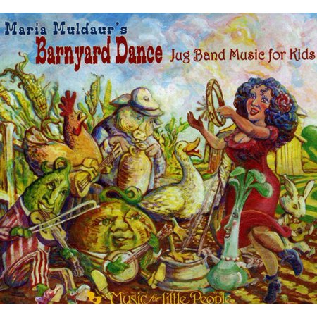 Barnyard Dance: Jug Band Music for Kids - Halloween Music For Dance Class
