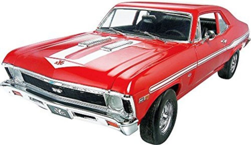 Revell Streetburner '69 Chevy Nova Yenko Model Kit 111 pc Box by Revell