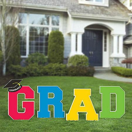Grad Corrugated Yard Stakes](Graduation Stores)