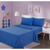 Your Zone Jersey Solid Color Sheet Set, Multiple Colors