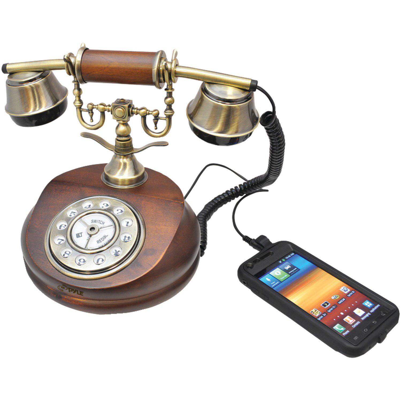 PYLE PRT15I PRT15I Retro Home Telephone System