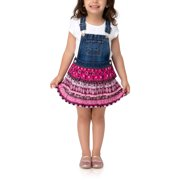 Jordache Toddler Girl Triple Tier Skirtall