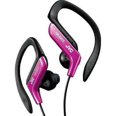 JVC HAEB75P Sports Clip Headphone, Pink - Jvc Sport Clip