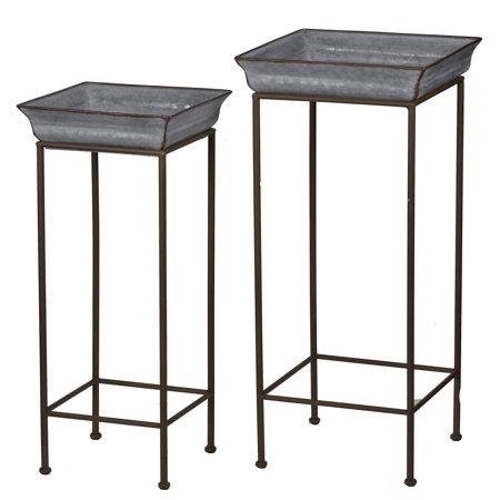 A&B Home Shelburne Plant Stands - Set of 2 ()
