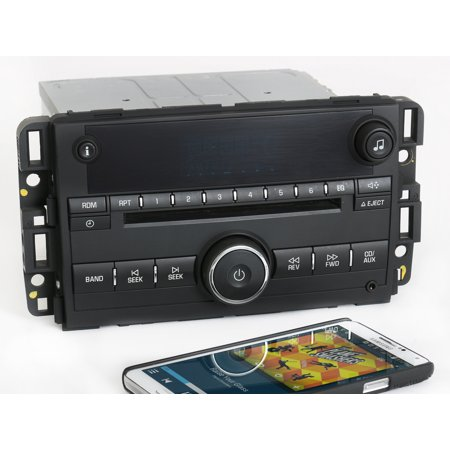 2008 Chevy Impala OEM Radio AM FM CD Player w Bluetooth Music 25857928 Unlocked - Refurbished ()