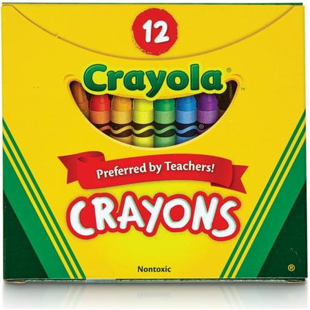 Crayola Tuck Box, 16 Crayons - Box Of Crayons