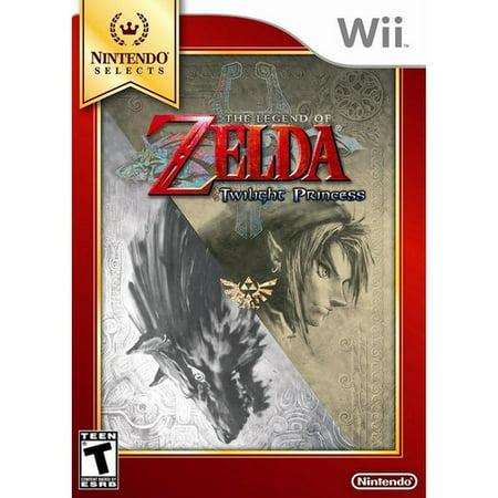 Legend Of Zelda Twilight Princess   Nintendo Selects  Wii
