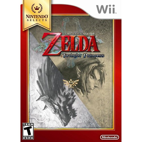 Legend of Zelda:Twilight Princess - Nintendo Selects (Wii)