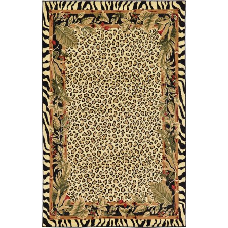 Unique Loom Jungle Wildlife (Jungle Friends Rug)